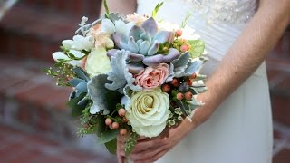 Creating My First Wedding Bouquet