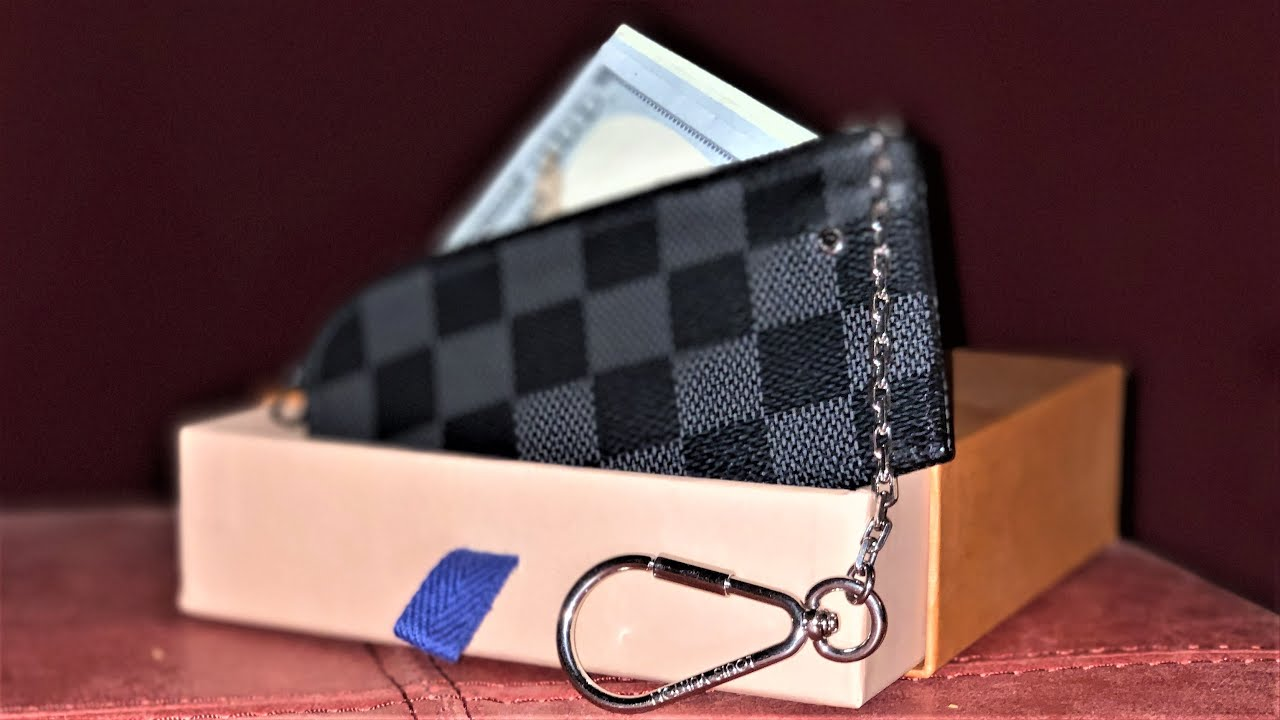 0e972c863629 Louis Vuitton 4 Key Holder Review   Unboxing - YouTube