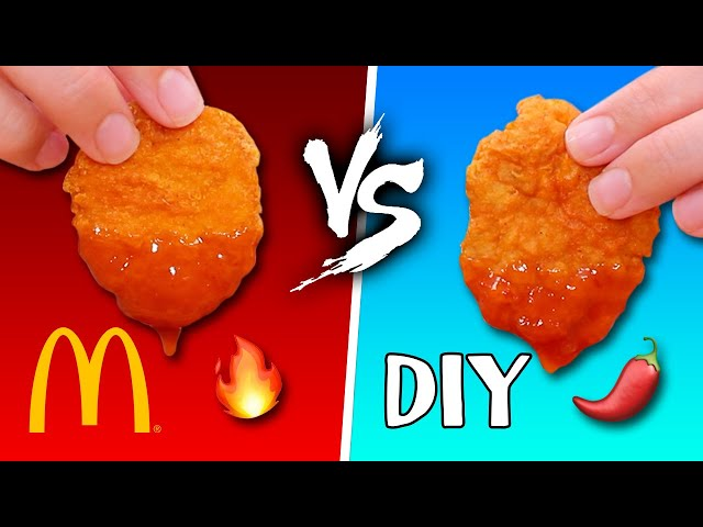 McDonald\'s NEW SPICY Chicken McNuggets Ft. Mr. Pig