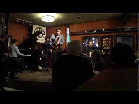 Matt Woroshyl with the Tim Ries Quartet at the Rex January 25, 2012