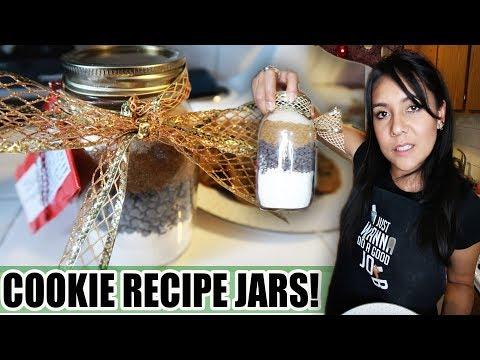 COOKIE RECIPE JARS (Last Minute Gift Idea!)  | Tasty Tuesday