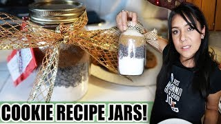 COOKIE RECIPE JARS (Last Minute Gift Idea!)  | Tasty Tuesday