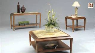 Marimba Square Cocktail Table By Bassett Mirror T1169-130