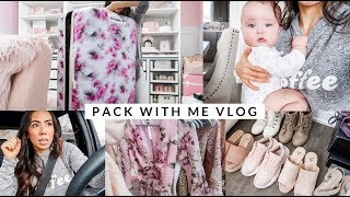 PACKING FOR CALIFORNIA!🌞SLMissGlamVlogs