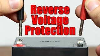 What is the best Reverse Voltage Protection Circuit? || Repairing a Lab Bench Power Supply