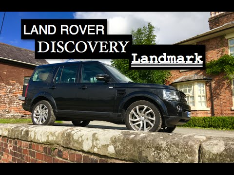 2016 land rover discovery landmark review inside lane youtube. Black Bedroom Furniture Sets. Home Design Ideas