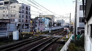 「1017Fの足回り!5000系2次車」名鉄5010F普通金山行き、知多半田駅到着