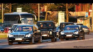 Проект Кортеж Автомобиль Аурус Сенат и Лимузин песни Ансамбля Красной Армии