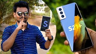 மிரட்டலான Samsung Galaxy S21+ (Exynos 2100,120Hz) |Unboxing & First Impression in Tamil | Tech Boss