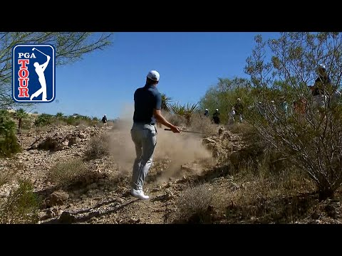 Justin Thomas makes disastrous triple, battles back to shoot 69 at THE CJ CUP