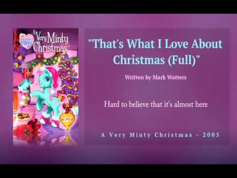 MLP G3 Music: That's What I Love About Christmas (Full) [Download]