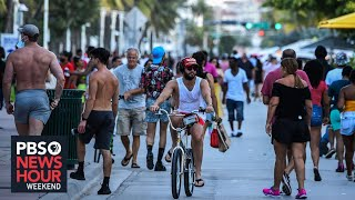 Florida shuts bars and beaches as COVID-19 cases surge