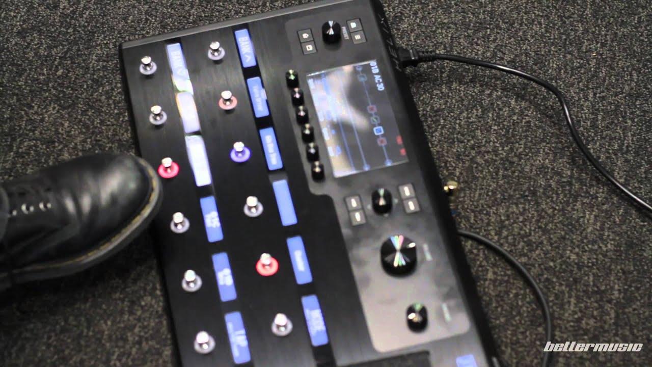 line 6 helix guitar effects processor unit sneak peek better music youtube. Black Bedroom Furniture Sets. Home Design Ideas