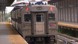 Atlantic City rail riders protest line's temporary shutdown