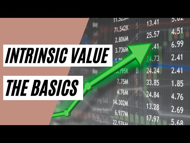 How to calculate INTRINSIC VALUE? (Investing Basics)