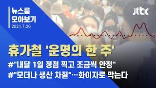 [뉴스룸 모아보기] 확산세 줄어든 수도권, 비수도권은 '3단계' 결정 / JTBC News