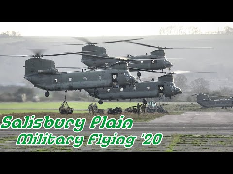 Salisbury Plain Military Aviation in 2020