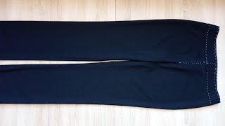 Готовим брюки на примерку