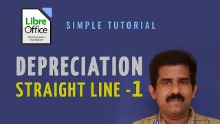 LibreOffice Calc - Depreciation Straight Line - SLN