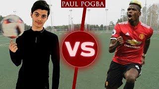 بشار عربي يتحدى بوجبا فالمهارات!! | Challenge VS Pogba