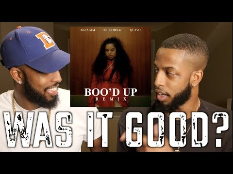 "ELLA MAI ""BOO'D UP"" REMIX (FEAT. NICKI MINAJ AND QUAVO) REVIEW AND REACTION #MALLORYBROS 4K"