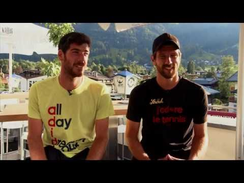 Gerald Tested In Jurgen Melzer Quiz At Kitzbuhel 2016
