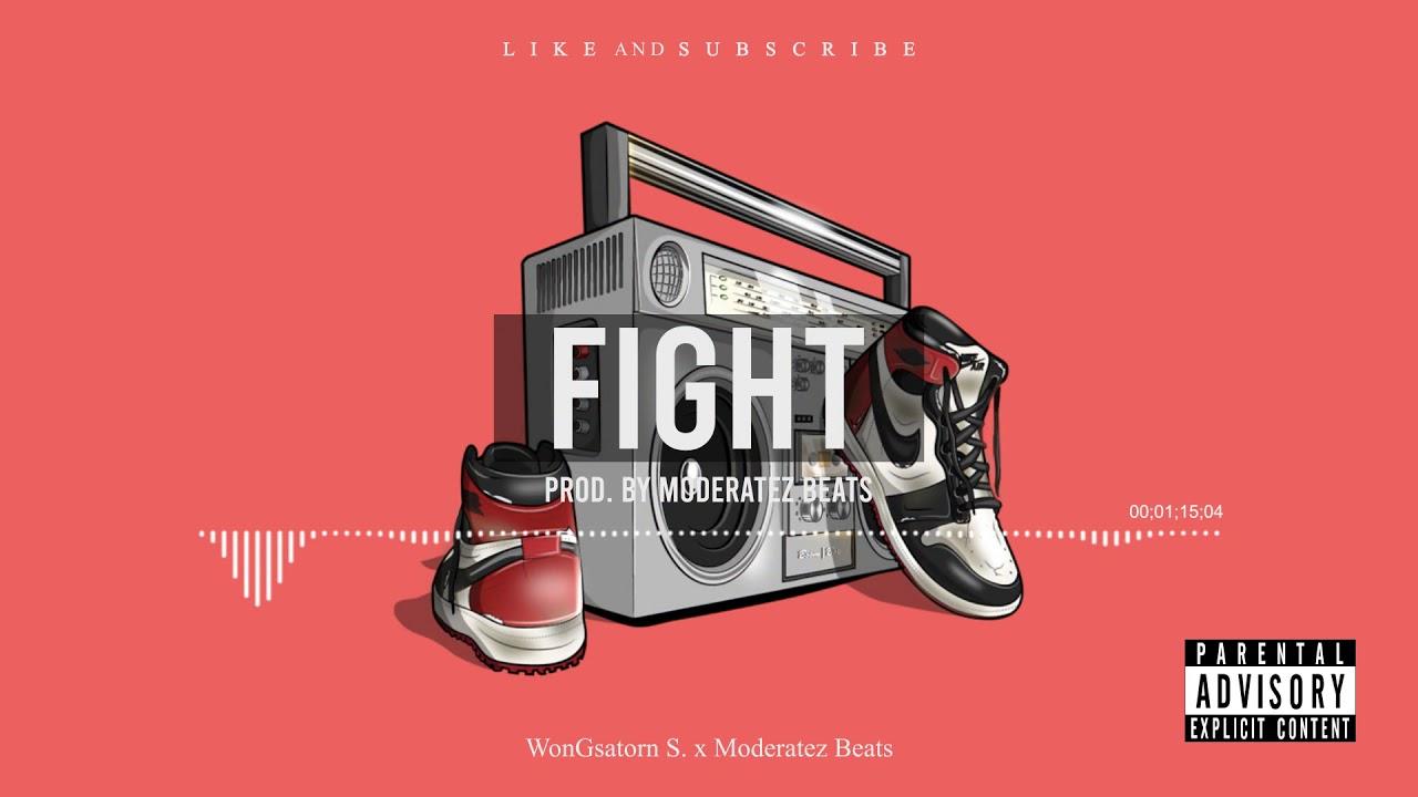 ฟรีบีท FREE BEAT Trap Old school hiphop FIGHT - Type Beat Instrumental 2020 | NON PROFIT BEAT