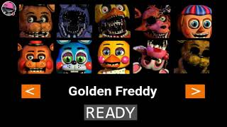 Golden Freddy is Dumb| Fnaf 2 10/20 Mode