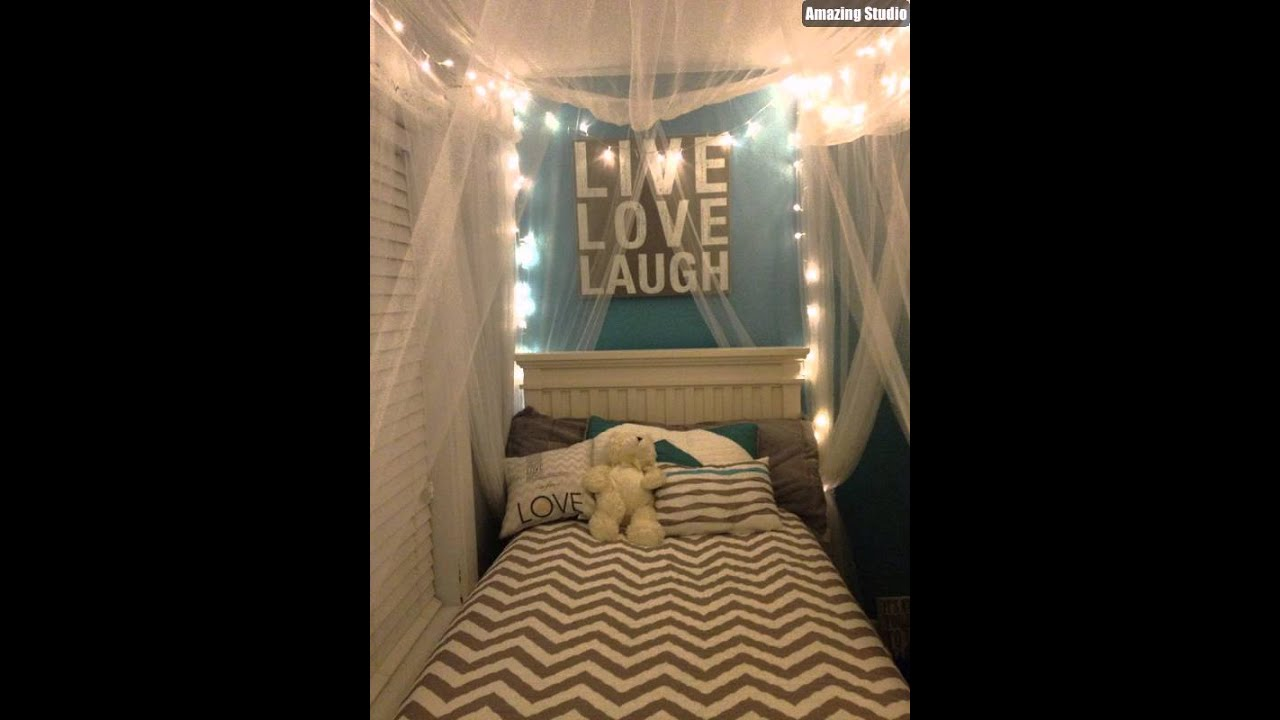Small DIY Dorm Canopy Beds & Small DIY Dorm Canopy Beds - YouTube