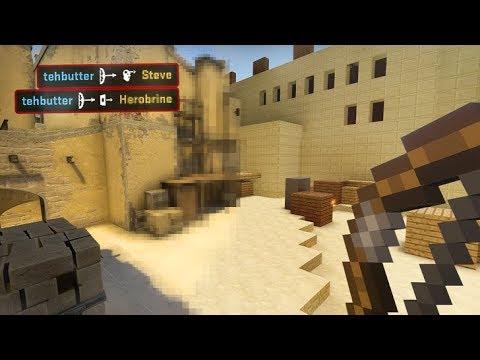 If Counterstrike had a Minecraft Mod