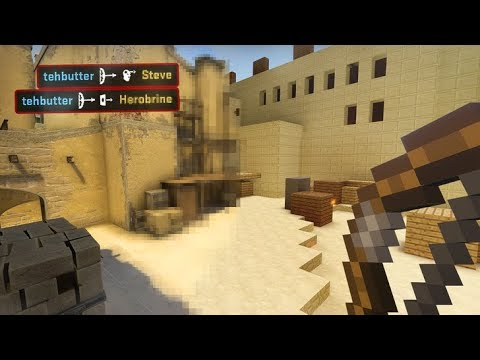 If Counterstrike Had A Minecraft Mod