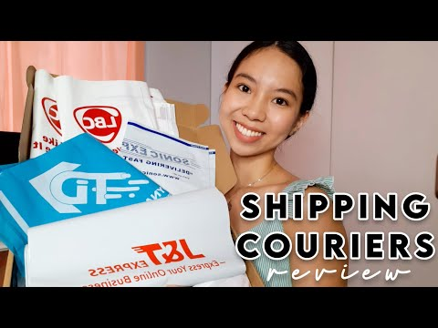 SHIPPING COURIERS REVIEW (PHILIPPINES) FOR ONLINE BUSINESS /Sonic Express, J&T, etc.   Ericka Javate