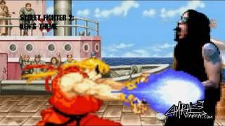 Street Fighter 2 Ken theme goes Heavy Metal!!!