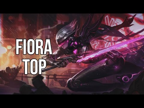 League of Legends - PROJECT: Fiora Top - Full Game Commentary