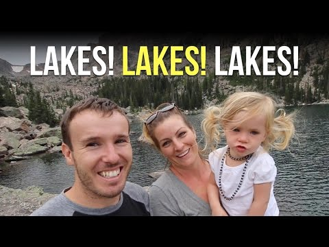 In Awe of the Lakes at Rocky Mountain National Park