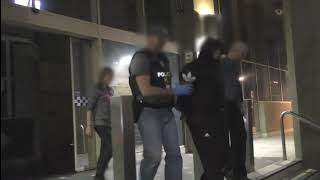 Police Charge Three Men in Counter-Terrorism Raid