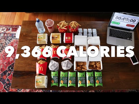 Steve-O - Watch 27 Year-Old Girl CRUSH Nearly 10,000 Calories in Under 30 Minutes