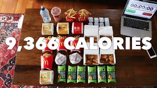 2016 Olympic Cheat Meal Challenge (Sawan Serasinghe's McDonald's Feast)