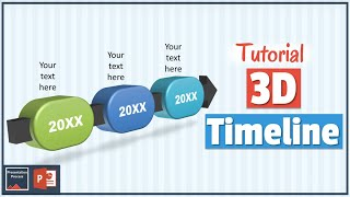 How to Create 3D Timeline Diagram : 3D PowerPoint Series