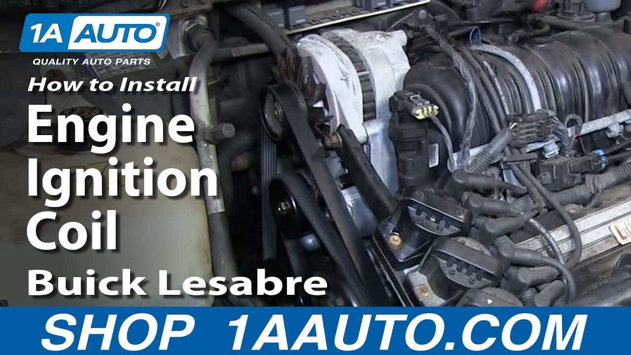 how to replace ignition coil 97-99 buick lesabre