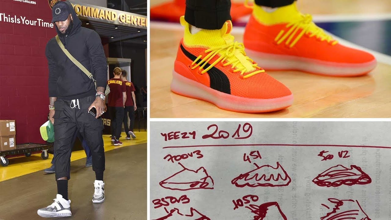 KANYE and ADIDAS Are Making YEEZY Basketball SNEAKERS From A Napkin -  OUTSIDE THE BOX ca07657dcbb9