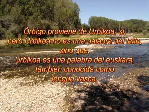 Wikipedia: Río Órbigo; Urbikoa, la verdadera etimologia vasca