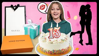 WHAT I GOT FOR MY 13th BIRTHDAY HAUL **FIRST KISS**💋🎂|Sophie Fergi