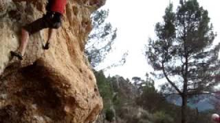 Rock Climbing in Mallorca at Valldemossa