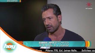 Gabriel Soto confiesa haberle sido infiel a Geraldine Bazán | Hoy