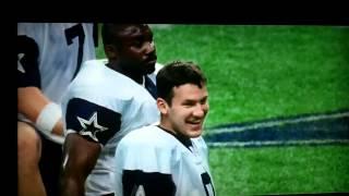 Parcells lectures Romo - 2003