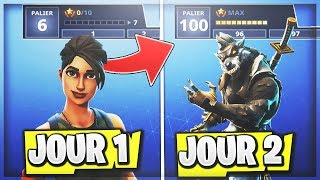 "⭐️XP RAPIDE - BE RAPIDE PALIER 100 - SKINS ""LYCAN"" STYLE MAX on FORTNITE (NEW)!!"