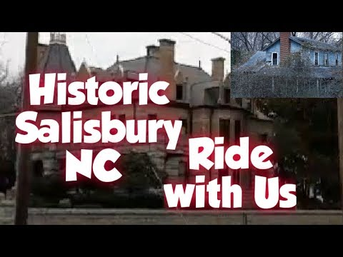 Historic Salisbury NC, Ride With Us.. New Channel??