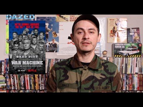 WAR MACHINE Movie Review ( Netflix & Cheadle)
