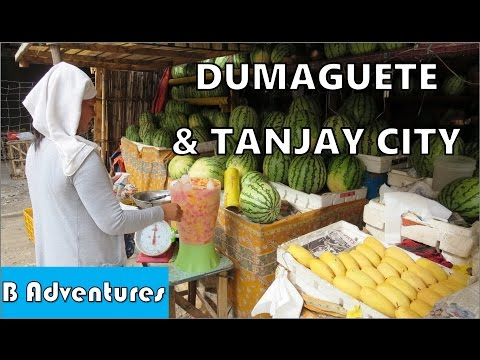 Dumaguete Paunay Market, Tanjay Park Cafe Dancing, Travel Philippines S2 Ep11